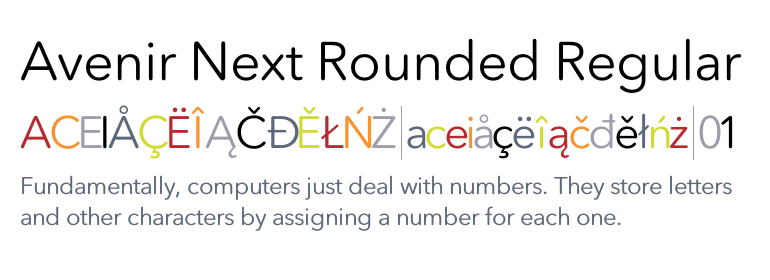 Top 5 Avenir Next Rounded Font Free Download [Christ Image