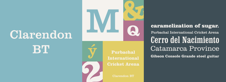Clarendon BT Complete Family Pack - Fonts com