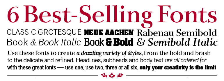 Download Best Sellers Pack | Fonts.com