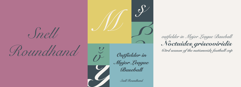 Snellroundhand Free Font