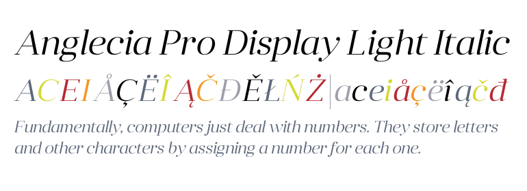 how to add display items fonts and colors: