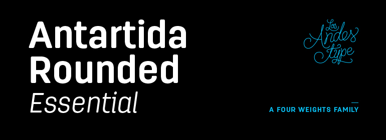 Antartida Rounded Essential Font Free Download