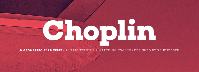 Choplin Complete Family - Fonts.com