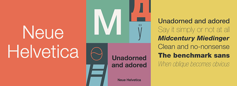 Neue Helvetica® Complete Family - Fonts com