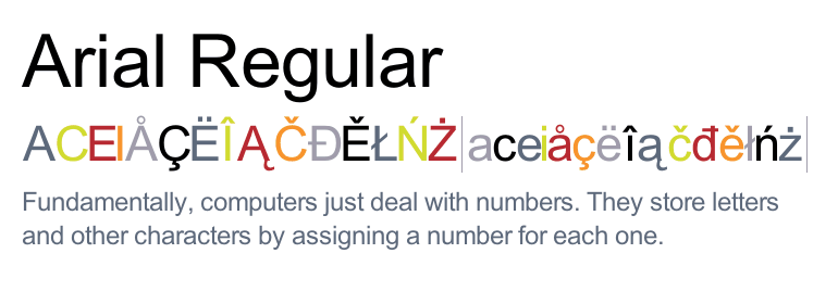Download arial fonts for mac.