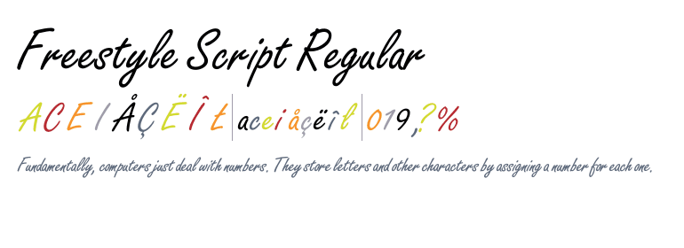 Freestyle Script Std Regular