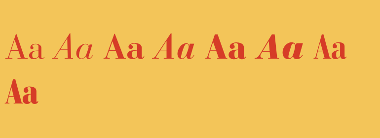 Bauer Bodoni Complete Family Pack - Fonts com