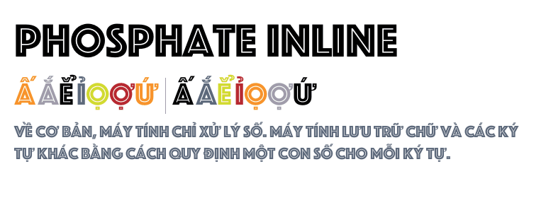 how to create inline font