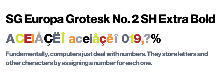 europa grotesk nr 2 sh bold cond free download