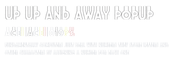 Up Up And Away Font Download For Free