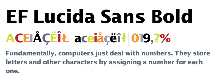lucida font free download