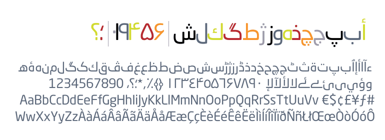 Neo® Sans Arabic Regular - Fonts com