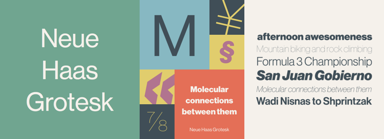 Neue Haas Grotesk™ Complete Family Pack - Fonts com