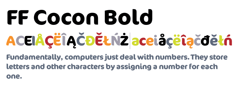ff cocon bold font free download