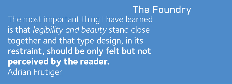 Font Foundry Sterling Book