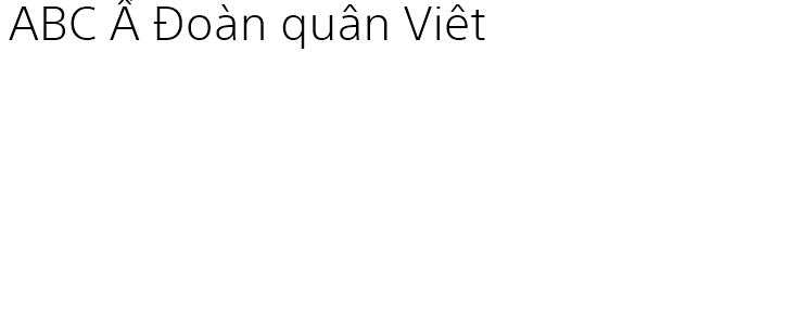 SST® Vietnamese Light - Fonts com