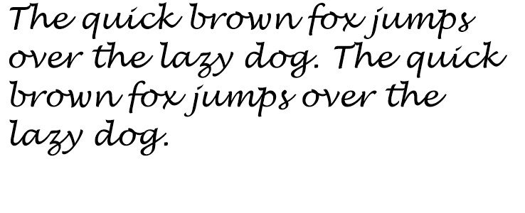 Lucida handwriting italic fonts