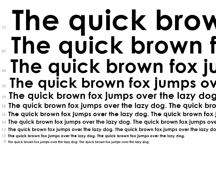 Brown bold Fonts Free Download