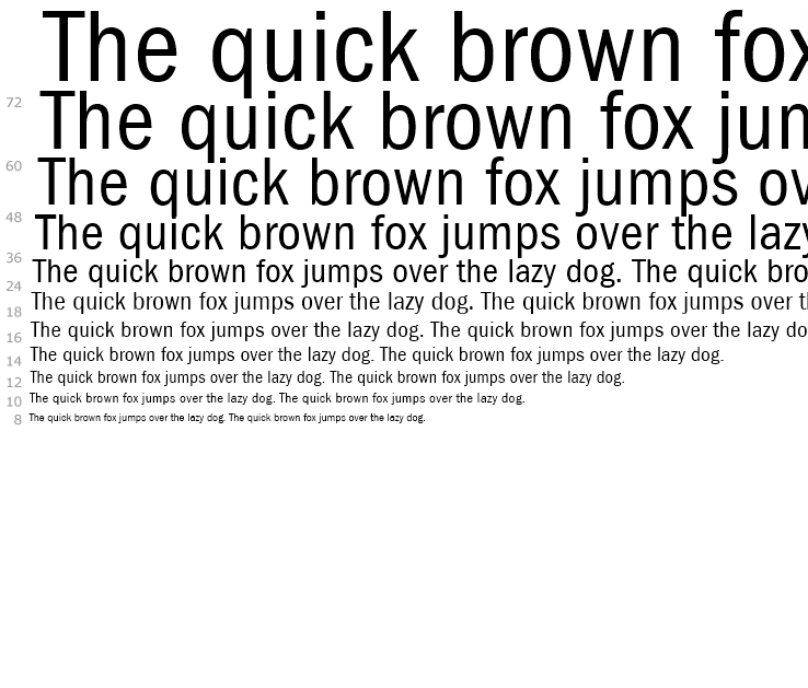 ITC Franklin Gothic™ Book Condensed - Fonts com