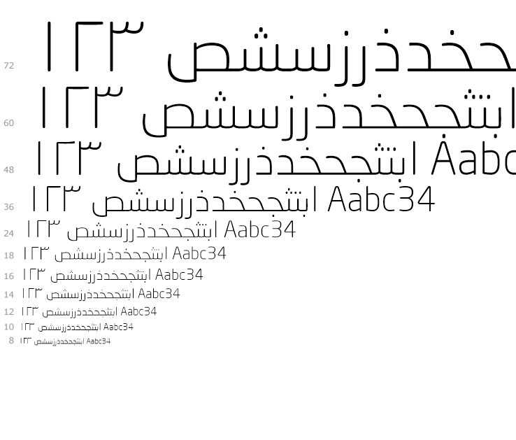 Download Neo® Sans Arabic Complete Family Pack | Fonts.com