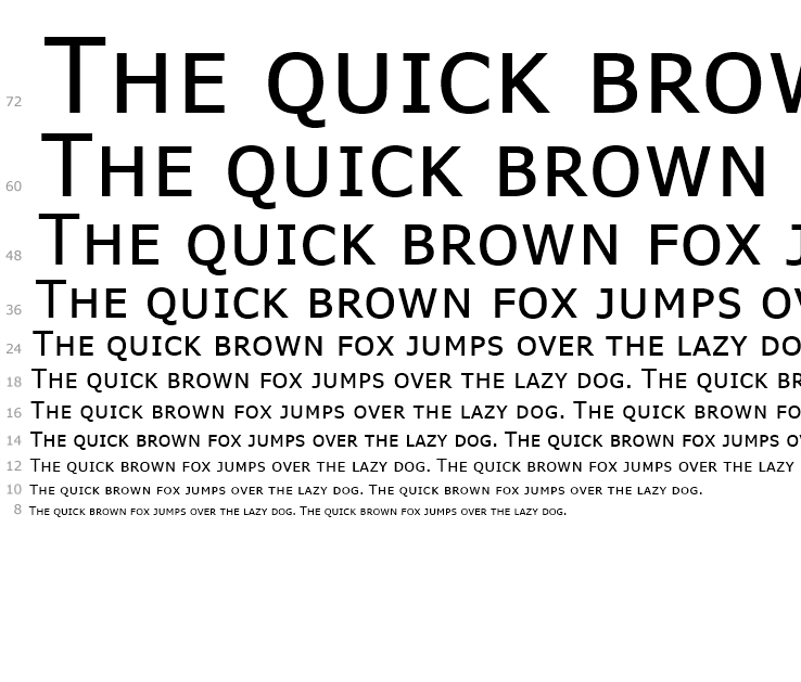 Similar Free Fonts for Brown Std Bold
